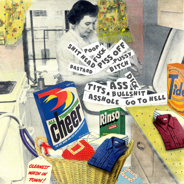 nelson de la nuez museum of humor art swear dirty words laundry advertising