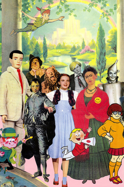 the museum of humor art nelson de la nuez moha dorothy friends wizard of oz scooby doo frida kahlo andy warhol