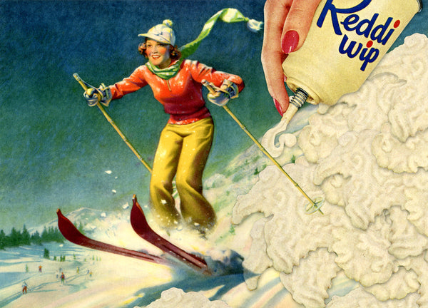 nelson de la nuez museum of humor art moha skiing skiers delight ski dessert sports winter aspen