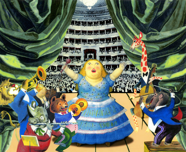 nelson de la nuez museum of humor art moha fat lady has sung opera