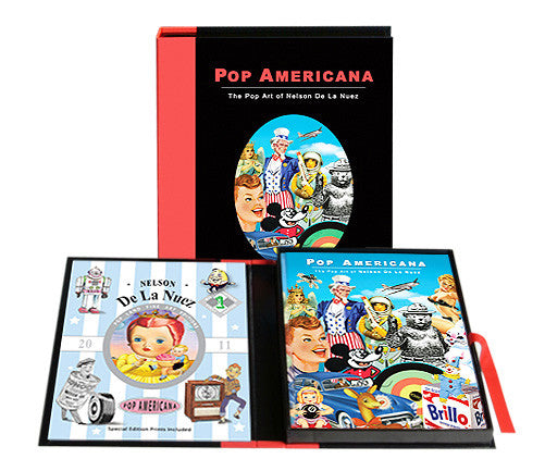 Pop Americana Limited Edition Boxed Set Book-Signed