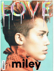 LOVE Magazine issue 11 Fantasy - Miley Cyrus cover - Marc Jacobs - Fashion extravaganza
