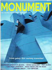 Monument - Australia's Leading Magazine of Architecture and Design -issues 5 & 6