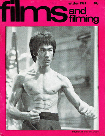 Films and Filming magazine October 1973 'Bruce Lee' cover