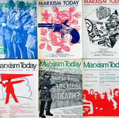 Marxism Today 6 issues 1970's