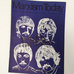 Marxism Today 1972 Beatles cover art
