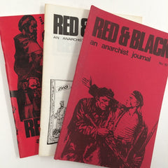 Red and Black an Anarchist Journal 3 issues