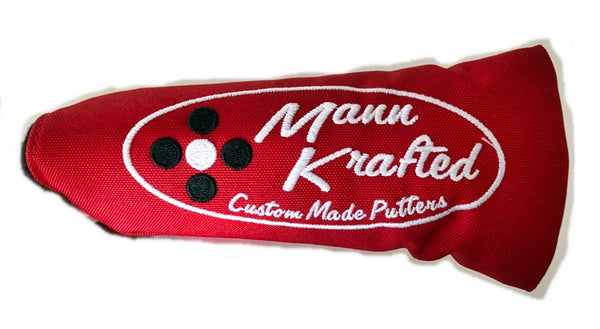 Retro Design Putter Covers NEW COLORS- GAMER COVERS W/VELCRO-TYPE CLOSURE