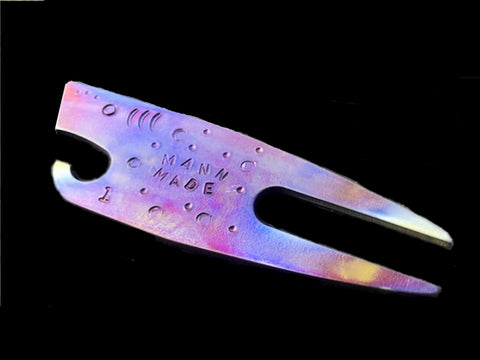 """Sharky"" the Titanium Divot Tool/Bottle Opener"