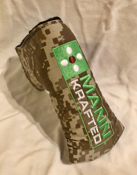 Camo Covers with MANN Block Logo, Very Limited