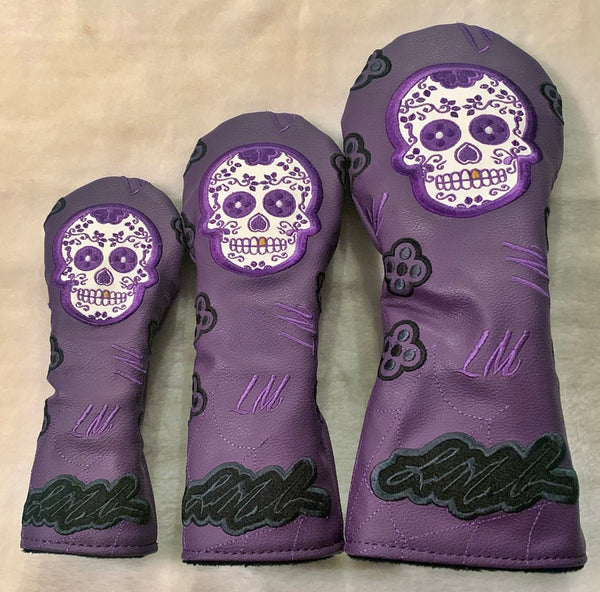 Sugar Skull Driver/FW/Hybrid covers.  Dual Color Layouts