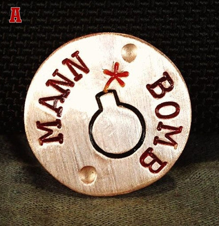 MANN•MADE Solid Copper, HandKrafted Ball Markers have arrived!