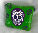 Sugar Skull Mallet Covers, Square-style, Extremely limited.