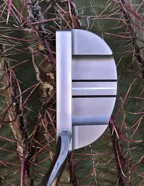 "HandMade Mallet in 303 Stainless Steel, ""IN THE HOLE"""