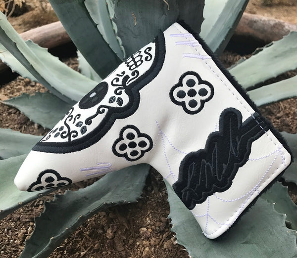 MannMade Sugar Skull Putter Cover, NEW COLORS WILL GO FAST!!!
