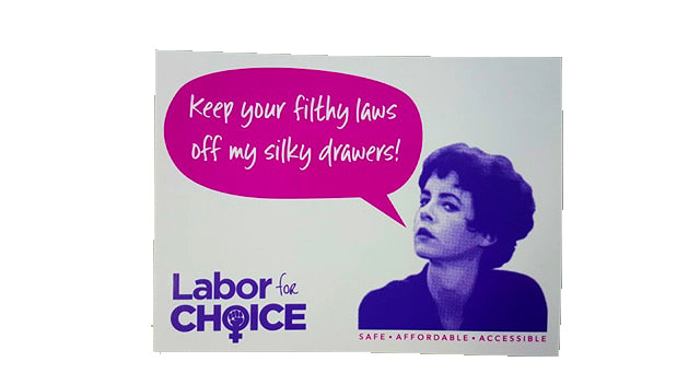Labor 4 Choice Stickers