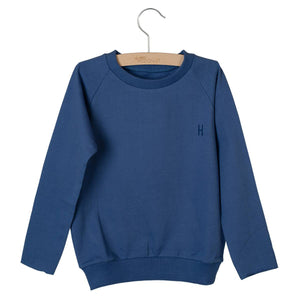 Little Hedonist, Sweatshirt, Langarm, Powder Blau