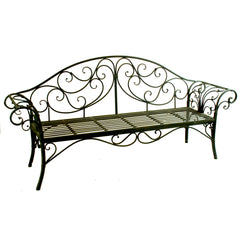 "PRIMARY LONG METAL BENCH 81"" X 20"" 39"""