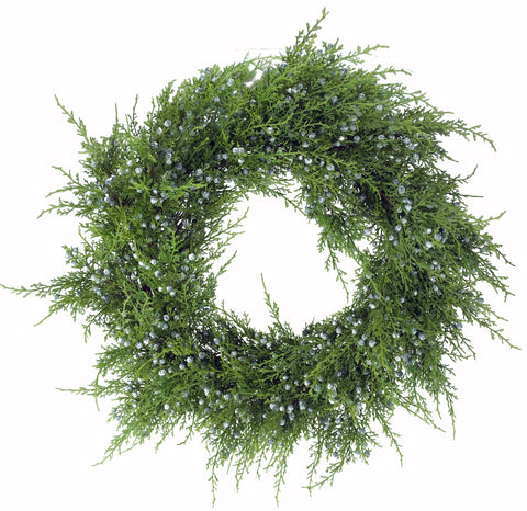 OREGANO JUNIPER WREATH FOR CHRISTMAS