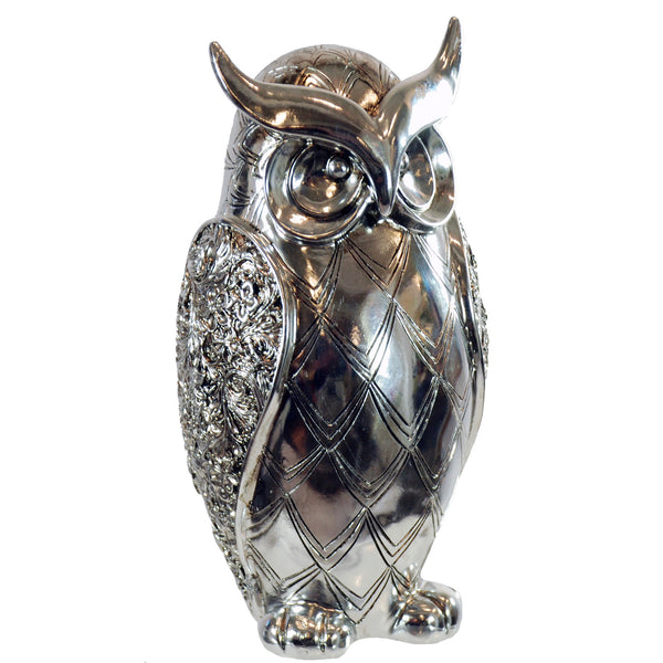POLY RESIN OWL FIGURE