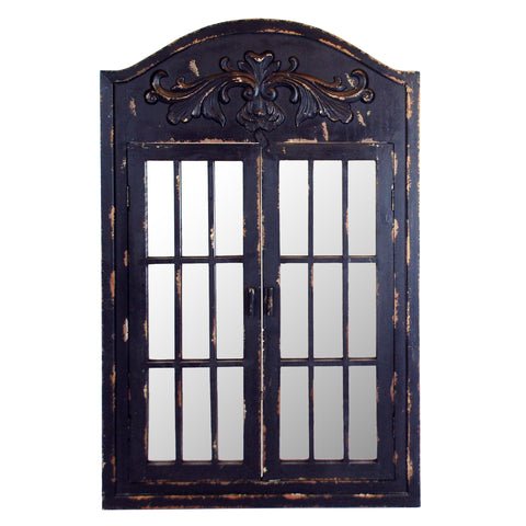"VIEUX CARRE WINDOW MIRROR 32"" x 2"" x 50"""