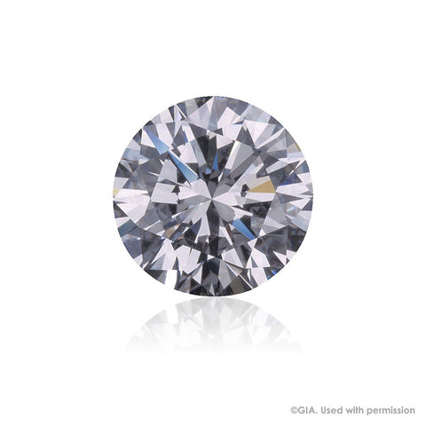 Single Round Brilliant Cut Diamond = 0.90ct
