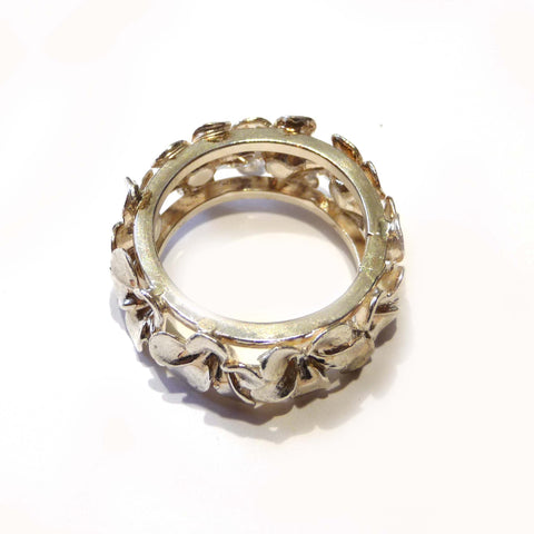 Sterling Silver Frangipani Ring