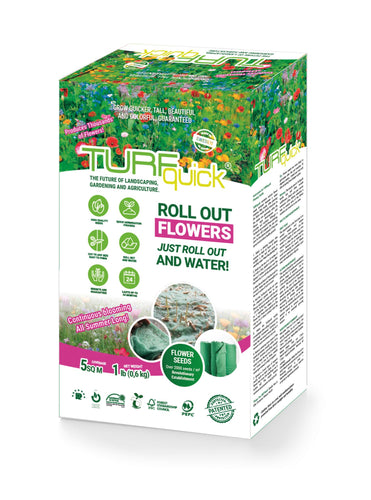 Flower Mixture Low - Turfquick Planting Textile