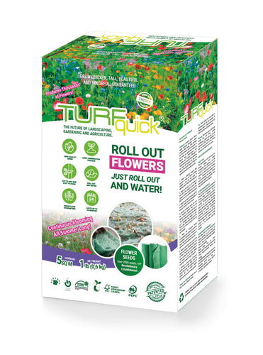 Meadow Mix fo Heavy Soil - Turfquick Planting Textile