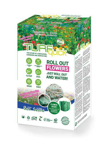 Nature Flower Mix - Turfquick Planting Textile
