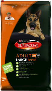 Supercoat Dog - Adult Large Breed, 1 year +