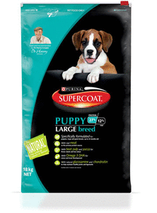 Supercoat Dog - Puppy Large Breed 0-24 months