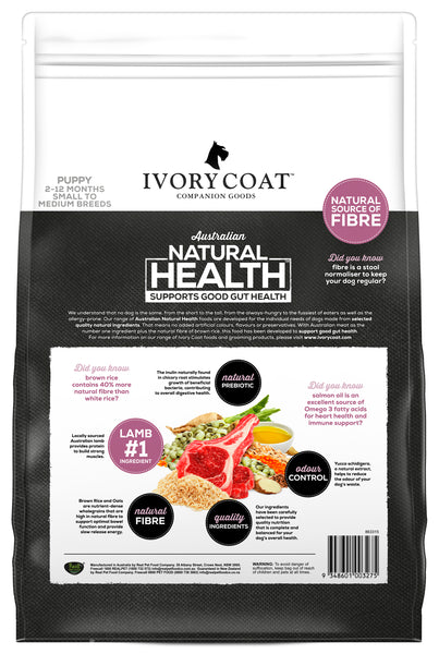 Ivory Coat - Puppy Lamb & Brown Rice