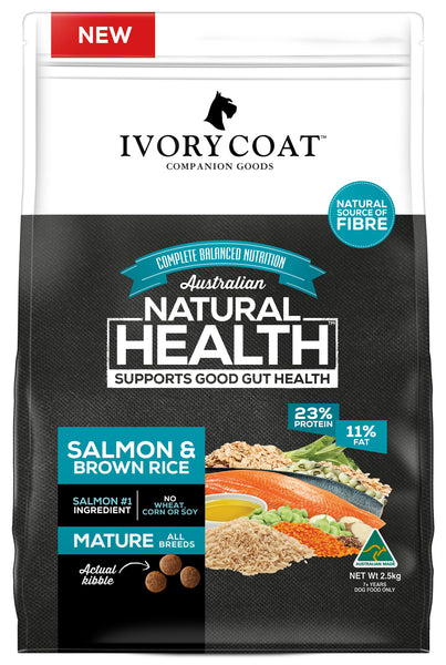 Ivory Coat - Mature Salmon & Brown Rice