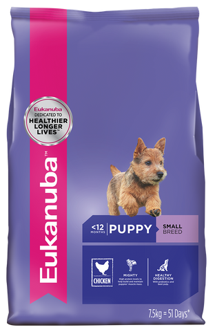 Eukanuba Dog - Puppy Chicken Small Breed