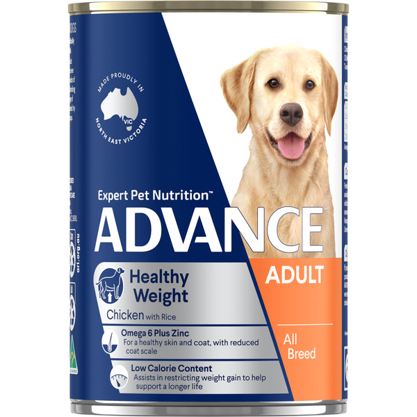 ADVANCE™ Adult All Breed Weight Control Chicken & Rice Cans