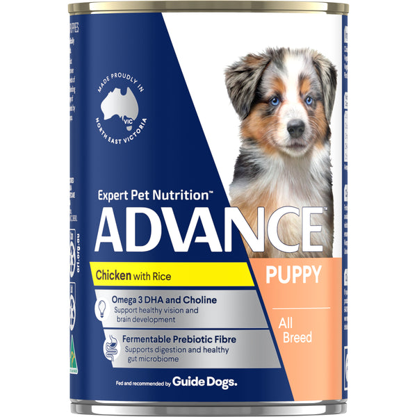 ADVANCE™ Puppy Plus Growth Chicken and Rice Cans