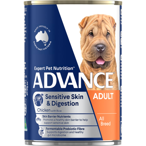 ADVANCE™ Adult All Breed Sensitive Skin & Digestion Chicken & Rice