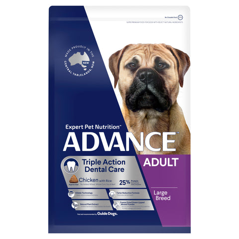 ADVANCE™ Dental Care Triple Action Large Breed Chicken with Rice