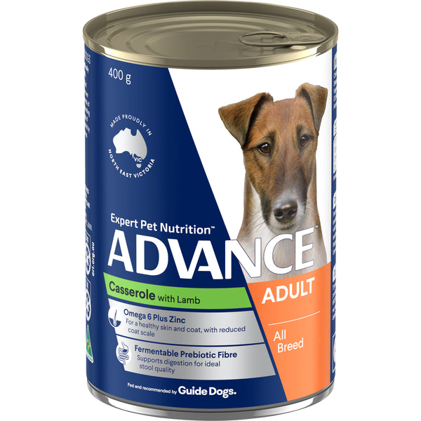 ADVANCE™ Adult All Breed Lamb Casserole Cans