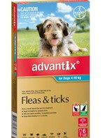 Advantix Dog - Advantix Medium Dog 4-10Kg