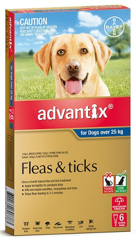 Advantix Dog - Advantix Extra Large Dog - Over 25Kg