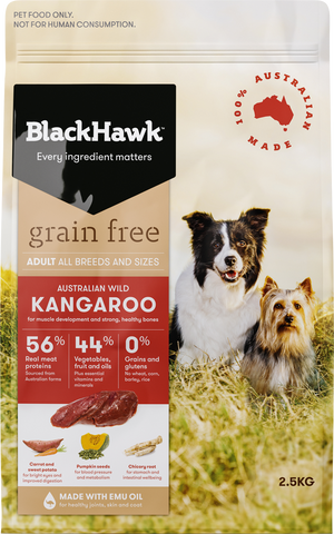BlackHawk Dog -  Grain Free Adult Kangaroo