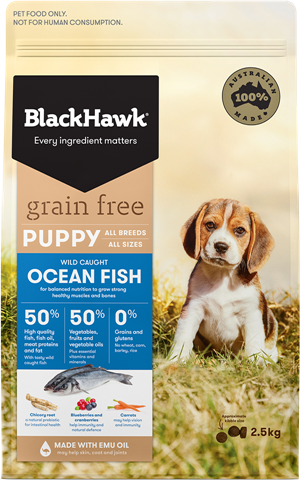 BlackHawk Dog - Grain Free Puppy Ocean Fish