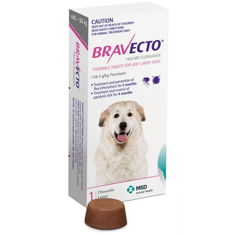 Bravecto Dog - Bravecto Very Large Dogs 40-56kg
