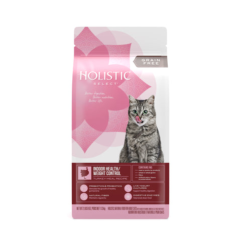 Holistic Select Cat - GRAIN FREE Indoor Health/Weight Control
