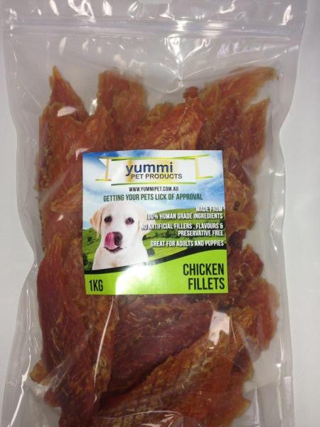 CHICKEN FILLETS - 1kg