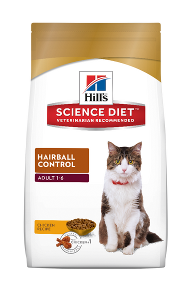 Science Diet Cat - Hairball Control, Adult
