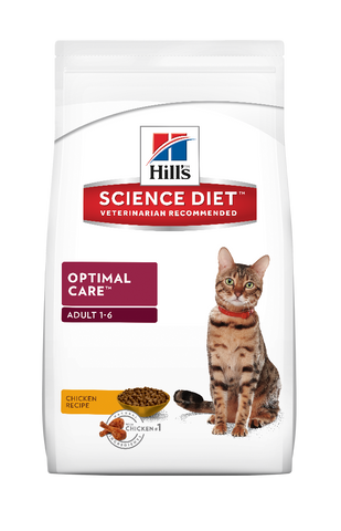 Science Diet Cat - Optimal Care, Adult