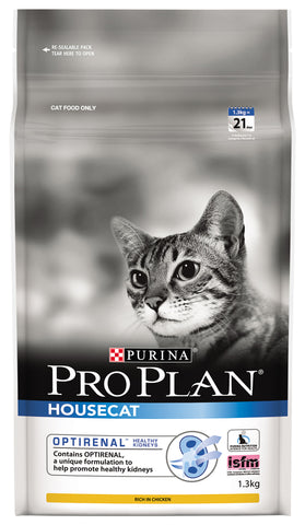 Pro Plan Cat - ADULT HOUSECAT with OPTIRENAL